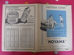 Protège-cahier Cirage Noyama. Encaustique, Brillant Oméga - Protège-cahiers