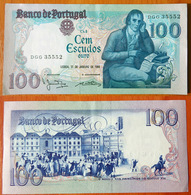 Portugal 100 Escudos 1984 AUNC - Portugal