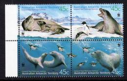2001 - AUSTRALIAN ANTARTIC TERRITORY -  Yi.  145/148 - NH - (REG2875.. 27) - Territorio Antartico Australiano (AAT)