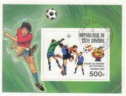 IVORY COAST Block 24,used,football - World Cup