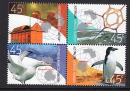 2002 - AUSTRALIAN ANTARTIC TERRITORY -  Yi.  149/152 - NH - (REG2875.. 27) - Territorio Antartico Australiano (AAT)