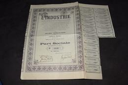 L'industrie Société Anonyme De Construction Et Entreprise Wilsele-lez-Louvain - Industrie