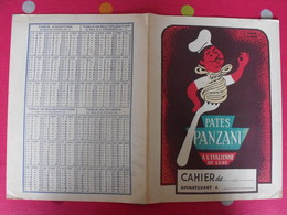Protège-cahier Pates Panzani, à L'italienne, De Luxe. Hervé Morvan - Protège-cahiers