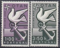 PORTUGAL 878-879,unused - NATO