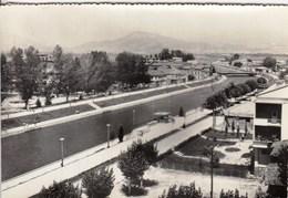 Macedonia Struga 1958 / River, Bridge, Panorama - Macédoine