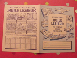 Protège-cahier Huile Lesieur. Jouets Auto Bateau Dinette - Protège-cahiers