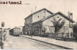 BOGHARI LA GARE TRAIN LOCOMOTIVE STATION BAHNHOF ALGERIE - Algerije