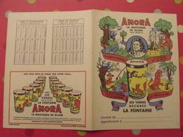Protège-cahier Amora, La Moutarde De Dijon. Verres Fables De La Fontaine - Protège-cahiers