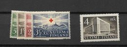 1939 MNH Finland, Finnland, Year Complete According To Michel, Postfris - Finland