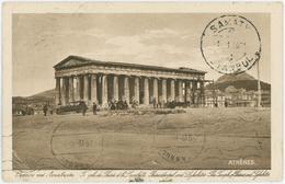 ATHENS  - Temple De Thesee Et Le Lycabette - Greece - Griekenland