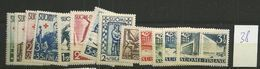 1938 MNH Finland, Finnland, Year Complete According To Michel, Postfris - Finland