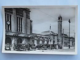 Carte Postale : 90 BELFORT : La Gare, Taxis, Animé, En 1952 - Belfort - Ville
