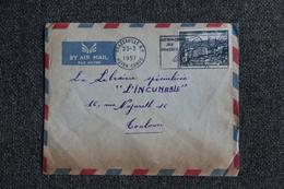 Timbre Seul Sur Enveloppe - A.E.F , BRAZAVILLE ( MOYEN CONGO ) Vers TOULOUSE.N°237 - Briefe U. Dokumente