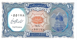 10  PIASTRES  -  EGITTO  -  Issud Under Law - 1940 - Egypte