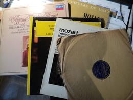 MOZART. LOT D 1 COFFRET TROIS 33 TOURS / UN 78 TOURS ET QUATRE 33 TOURS. ANNEES 50 / 1981 SERENADE EN SOL MAJEUR K 525 - Klassiekers