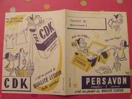 Protège-cahier Persavon, Qualité Lesieur. CDK - Protège-cahiers
