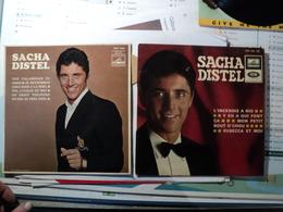 PAIRE DE 45 TOURS 4 TITRES SACHA DISTEL. 1966 / 1968  . EGF 922 / 1024 L INCENDIE A RIO / Y EN A QUI FONT / MON PETIT B - Autres - Musique Française