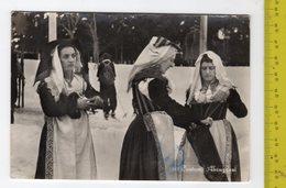 1954 Costumi Tradizionali Abruzzesi FG V See 2 Scans - Italy