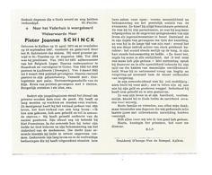 P 918. E.H. PIETER SCHINCK - KALKEN 1872/1967 -ST-TRUIDEN / Aalmoezenier Belg. Leger /HAASDONK/ OUTER-Politiek Gevangene - Images Religieuses