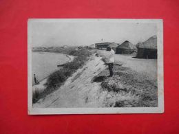 Issyk-Kul Kyrgyzstan 1920-th. Qaisara Resort, Dining Room, Dwellings Postcard - Kirghizistan