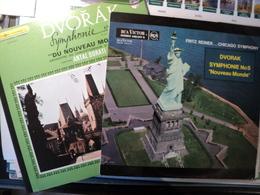 DVORAK. PAIRE DE 33 TOURS. ANNEES 50 / 70? RCA VICTOR 640 813 / PHILIPS 835 - Classique