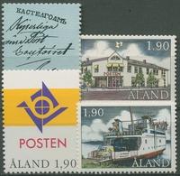 Aland 1993 Posthoheit, Einzelmarken Aus Block, 66/69 Postfrisch - Ålandinseln