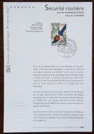 FDC Sur Document - YT N°3659 - SECURITE ROUTIERE - 2004 - FDC