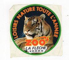 Mar19    842772    Auto Collant     ZOO De La Flèche     Un Lion - Stickers