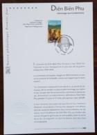 FDC Sur Document - YT N°3667 - DIEN BIEN PHU / HOMMAGE AUX COMBATTANTS - 2004 - FDC