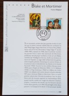 FDC Sur Document - YT N°3669, 3670 - BLAKE ET MORTIMER - 2004 - FDC
