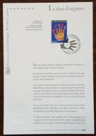 FDC Sur Document - YT N°3677 - LE DON D'ORGANES - 2004 - FDC