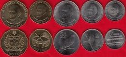 Samoa Set Of 5 Coins: 10 Sene - 2 Tala 2011 UNC - Samoa