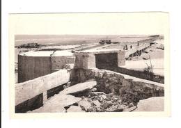 BERNIERES ST AUBIN  - BLOCKAUS DU MUR DE L ATLANTIQUE APRES LES BOMBARDEMENTS DE JUIN 1944 - Saint Aubin