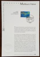 FDC Sur Document - YT N°3728 - MEILLEURS VOEUX - 2004 - FDC