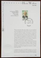 FDC Sur Document - YT N°3729 - HENRI WALLON - 2004 - FDC