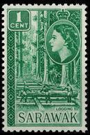 Sarawak 1953 Logging Mi:188 Sc:197 SG:188 MNH ** - Sarawak (...-1963)