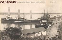 """BENI-SAF LE """" BARBARA """" UNIQUE NAVIRE DU SYSTEME ROTORS DANS LE PORT BATEAU ALGERIE - Algeria"""