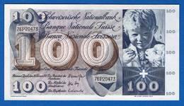 100 Fr   Du  10/2/1971  Neuf - Switzerland