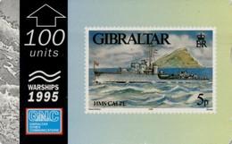 *GIBILTERRA* - Scheda Usata - Gibraltar
