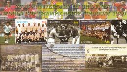 2005 Lesotho World Cup Football  Complete Set Of 2 Sheets MNH - Lesotho (1966-...)