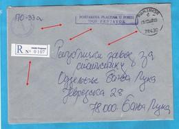 2000  PRNJAVOR  78430   RECCO BRIEF INTERESSANT BOSNIA REPUBLIKA SRPSKA - Bosnie-Herzegovine