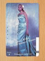 Japon Japan Free Front Bar, Balken Phonecard / 110-9810 / Woman Femme Frau / Grace Kelly / Mint Neuve Neu - Personnages