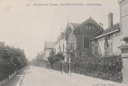 10300 SAINTE SAVINE TROYES - VILLA ROTHIER En 1914 - Otros Municipios