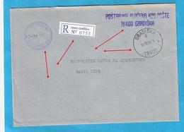 2000  GRADISKA  78400   RECCO BRIEF INTERESSANT BOSNIA REPUBLIKA SRPSKA - Bosnie-Herzegovine