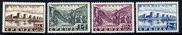SERBIA (German Occ.) 1941 Smederevo Exolosion Disaster Set MNH / ***.  Michel 46-49 - Occupation 1938-45