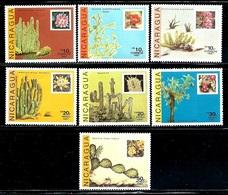 Nicaragua    Cactus     Set    SC# 1639-45 MNH** - Nicaragua