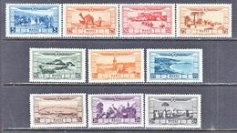 MOROCCO  C B  1-10  * - Morocco (1891-1956)