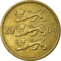 Monnaie, Estonia, 50 Senti, 2004, TB+, Aluminum-Bronze, KM:24 - Estonie