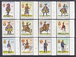 ANGOLA  513-24   **  MILITARY  UNIFORMS - Angola