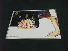 SCOUT 5/6 1 MOSTRA INTERNAZIONALE MUGGIA 1983 ILLUSTRAZIONE L. PITACCO IL FUOCO DI BIVACCO GRUPPO SCOUT - Scoutismo